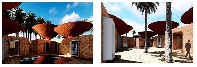 Conheça o projeto 'Concave Roof' e a proposta arquitetônica para coleta de água eficiente.