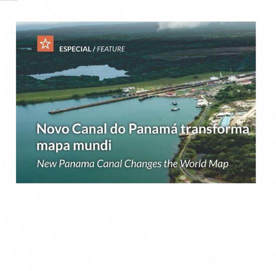 Com a expansão do Canal do Panamá as relações comerciais mundiais já começam a se alterar. Saiba como essa nova construção altera a visão do mapa mundi atual.